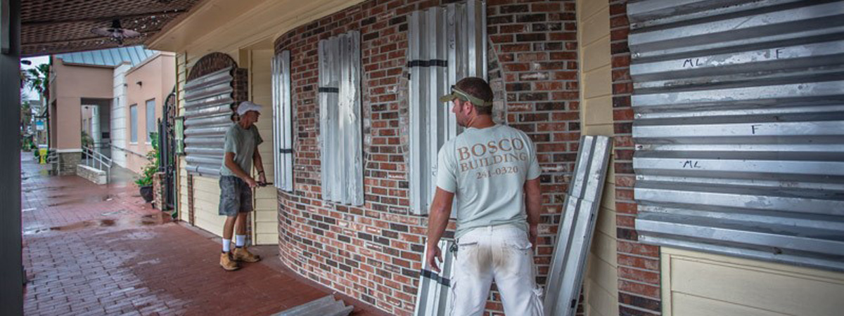 commercial hurricane protection jacksonville beach, commercial hurricane shutters jacksonville beach, business hurricane preparedness, hurricane preparation for business